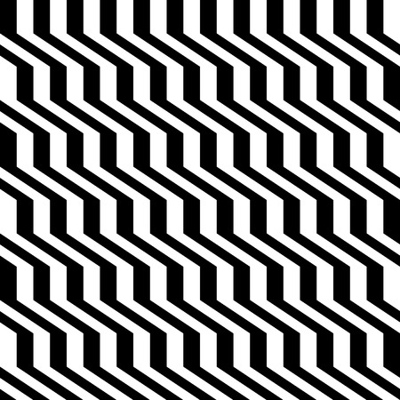 Monocrhome lines pattern Illustration