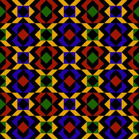 Colorful Kilim Pattern Vector