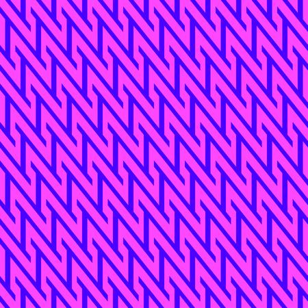 zag: Pink zig zag pattern Illustration