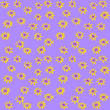 flores color pastel: Pintado a mano patr�n de flores en colores pastel