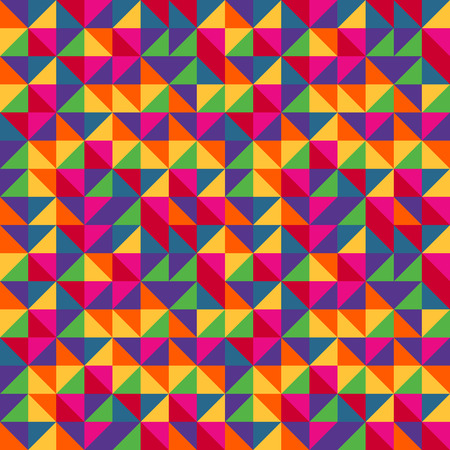 patter: Multicolored triangles patter