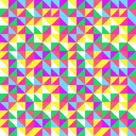 vibrations: Pastel triangles pattern