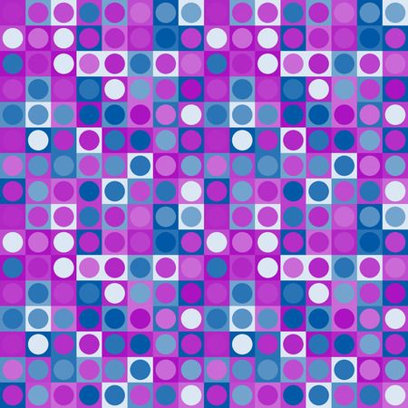 Purple geometric abstraction pattern