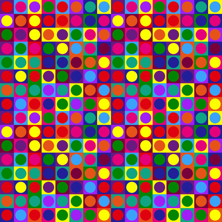 Colorful geometric abstraction pattern Illustration