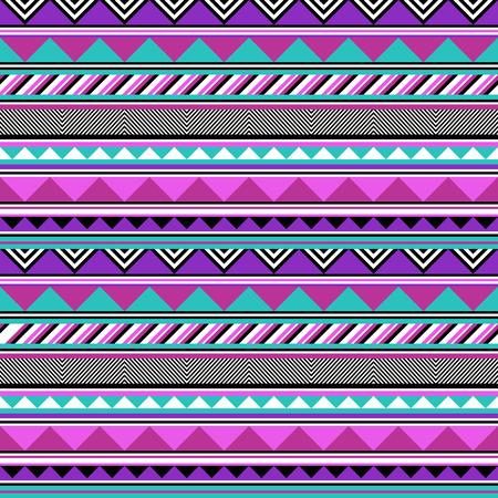 Pastel tribal stripes Vector