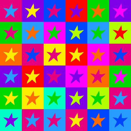 warhol: Pop art stars pattern
