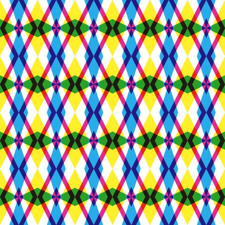 Argyle inspired pattern Illustration