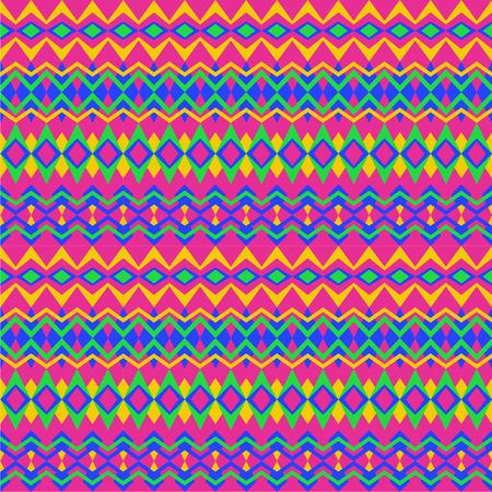 the nineties: Purple tribal nineties pattern