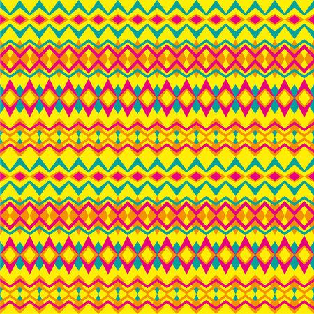 Yellow tribal trend pattern