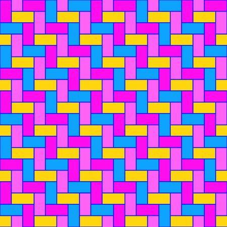 Pink herringbone pattern