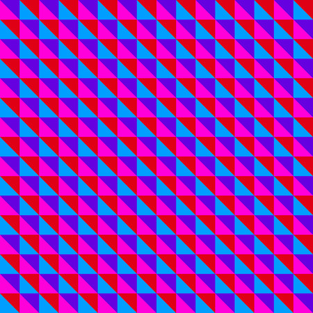 Purple diagonal triangles pattern