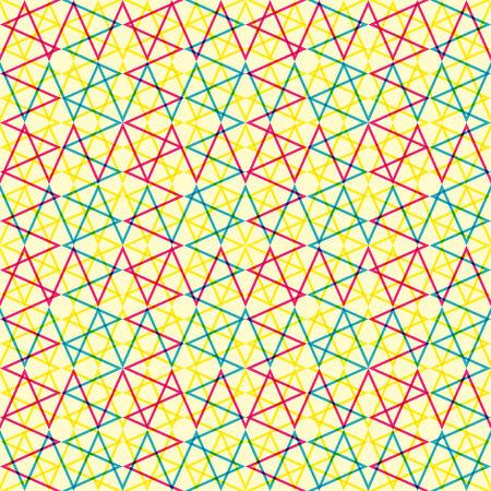 Seamless geo grid pattern Illustration