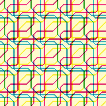 Funky lines pattern Illustration