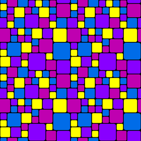 Pink and purple mosaic pattern Vector