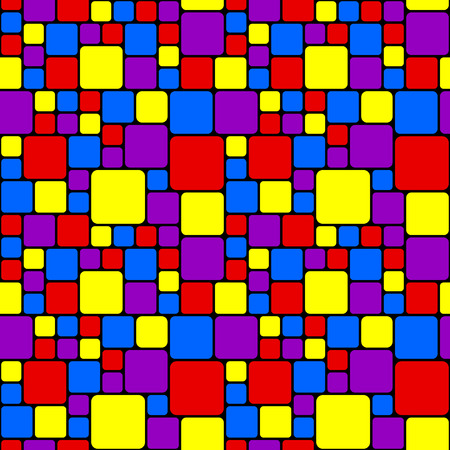Multicolored mosaic pattern Vector
