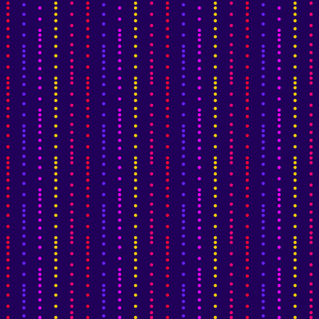 Purple dotted stripes pattern Illustration