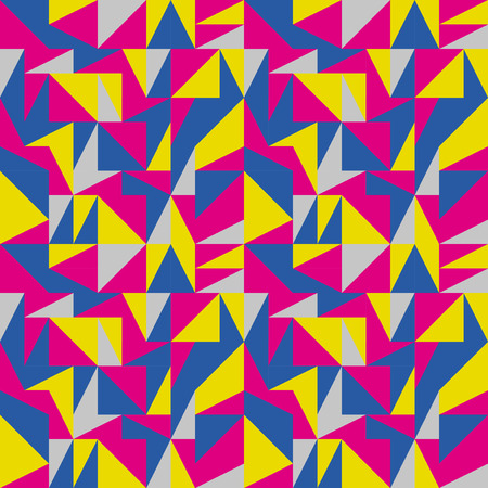 mid century: Pink mid century abstract pattern