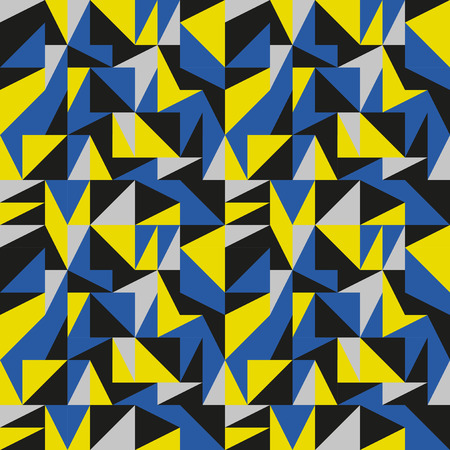 mid century: Arty mid century abstract pattern Illustration