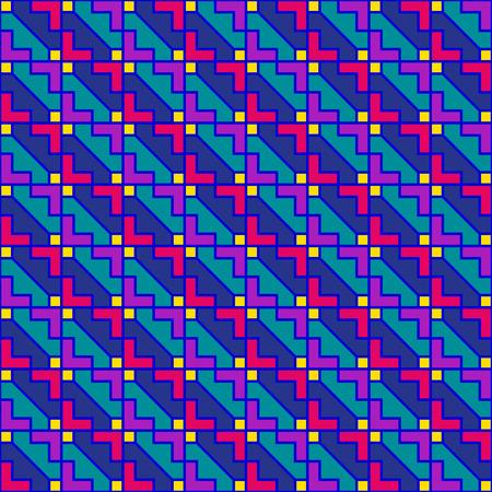 90s geometric pattern