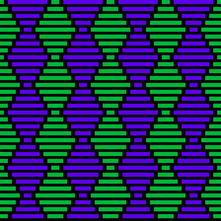 Purple and green african pattern