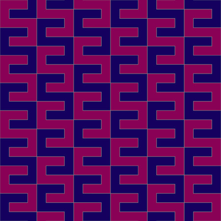 Purple and pink geometric pattern Illustration