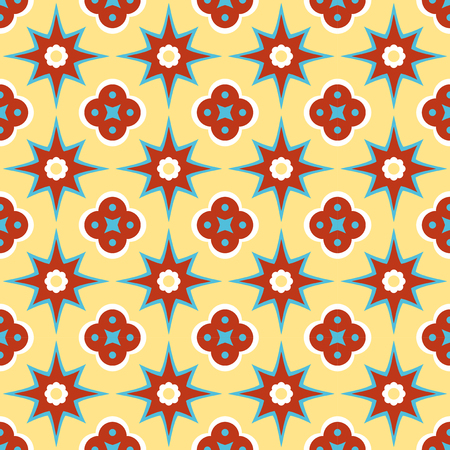 Antique encaustic pattern Vector