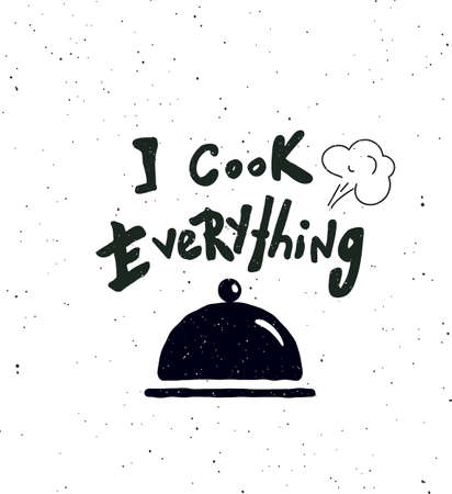 Je cuisine tout. Vecteurs