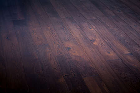 materia: dark background wooden brown natural floor Stock Photo