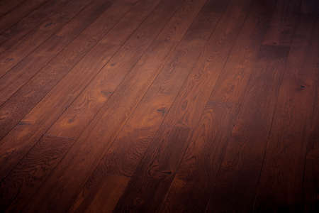 timber floor: timber background wooden brown natural floor Stock Photo