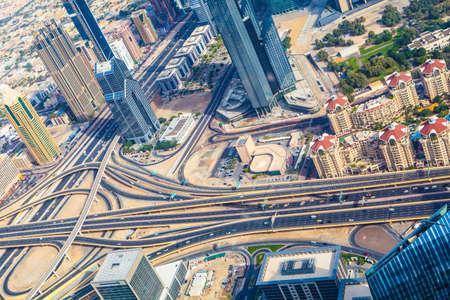 cross roads: modern cross roads in business town dubai