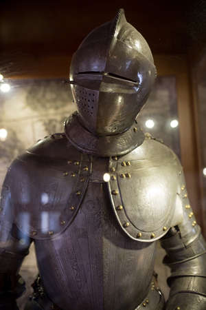 body guard: vintage european full body armor suit