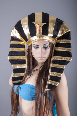 portrait of cleopatra queen of egypt photo