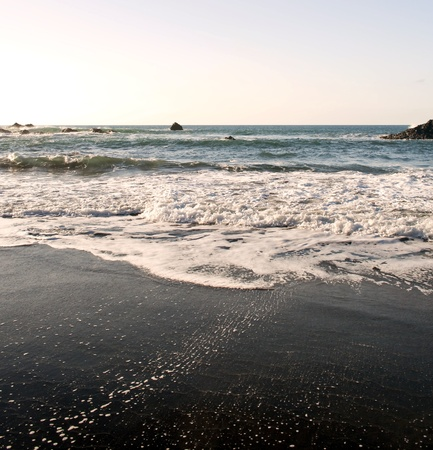 islets: Beach with islets in the village of Tenerife called Taganana