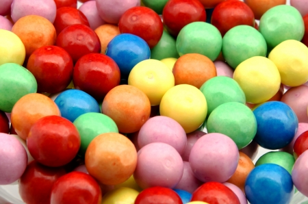 Gumball background colors, stacked side by side Stock Photo - 14036493