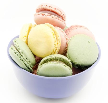 fillers: Traditional Parisian macarons Stock Photo