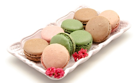 Macarons, biscuits typiquement parisienne photo