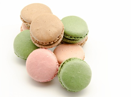 Macaroons, traditional Parisian cookie Stock Photo - 16701911