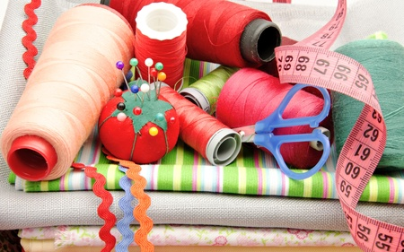 zip tie: Several tools for sewing