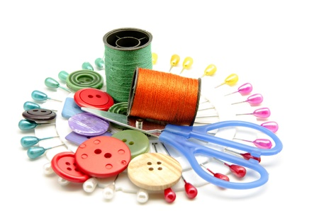 Several tools for sewing Stock Photo - 16805408