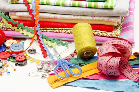 Several tools for sewing Stock Photo - 16805480