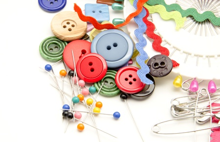 Several tools for sewing Stock Photo - 16805410