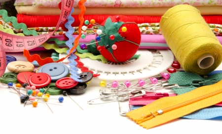 Several tools for sewing photo
