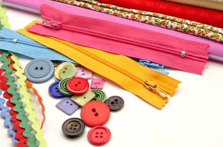 Several tools for sewing Stock Photo - 16805449