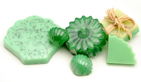 Scented glycerin soaps Stock Photo - 17134991