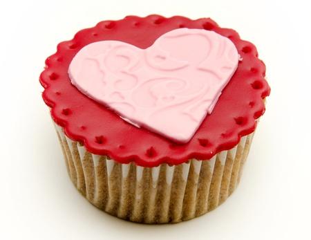 Valentine cupcakes Stock Photo - 17308237
