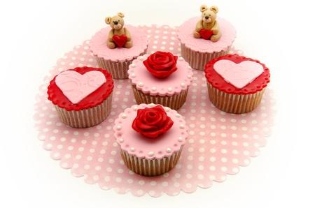 Valentine cupcakes Stock Photo - 17308234