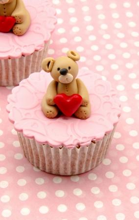 Valentine cupcakes Stock Photo - 17308245