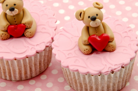 Valentine cupcakes Stock Photo - 17308270