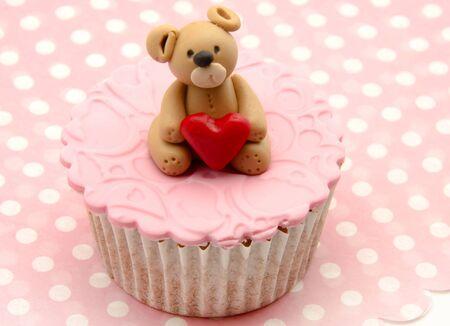 Valentine cupcakes Stock Photo - 17308236