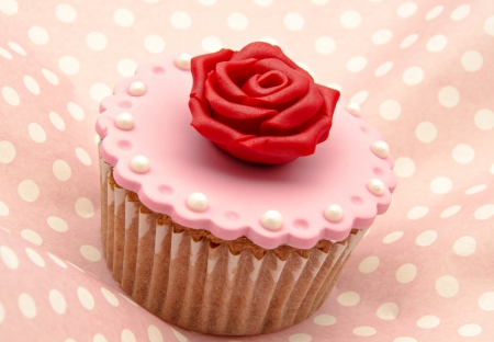 Valentine cupcakes Stock Photo - 17308304